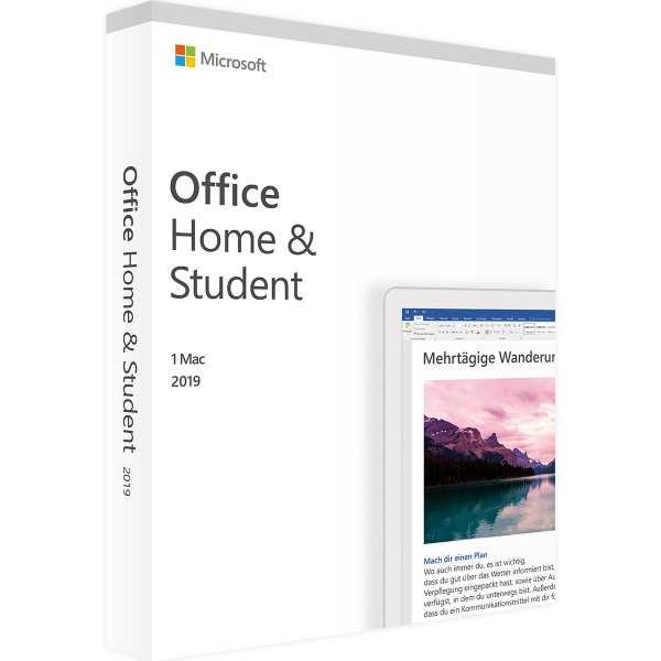 Microsoft Office 2019 Home & Student (Mac)
