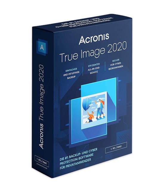 Acronis Backup 2020 1Gerät ( True Image)