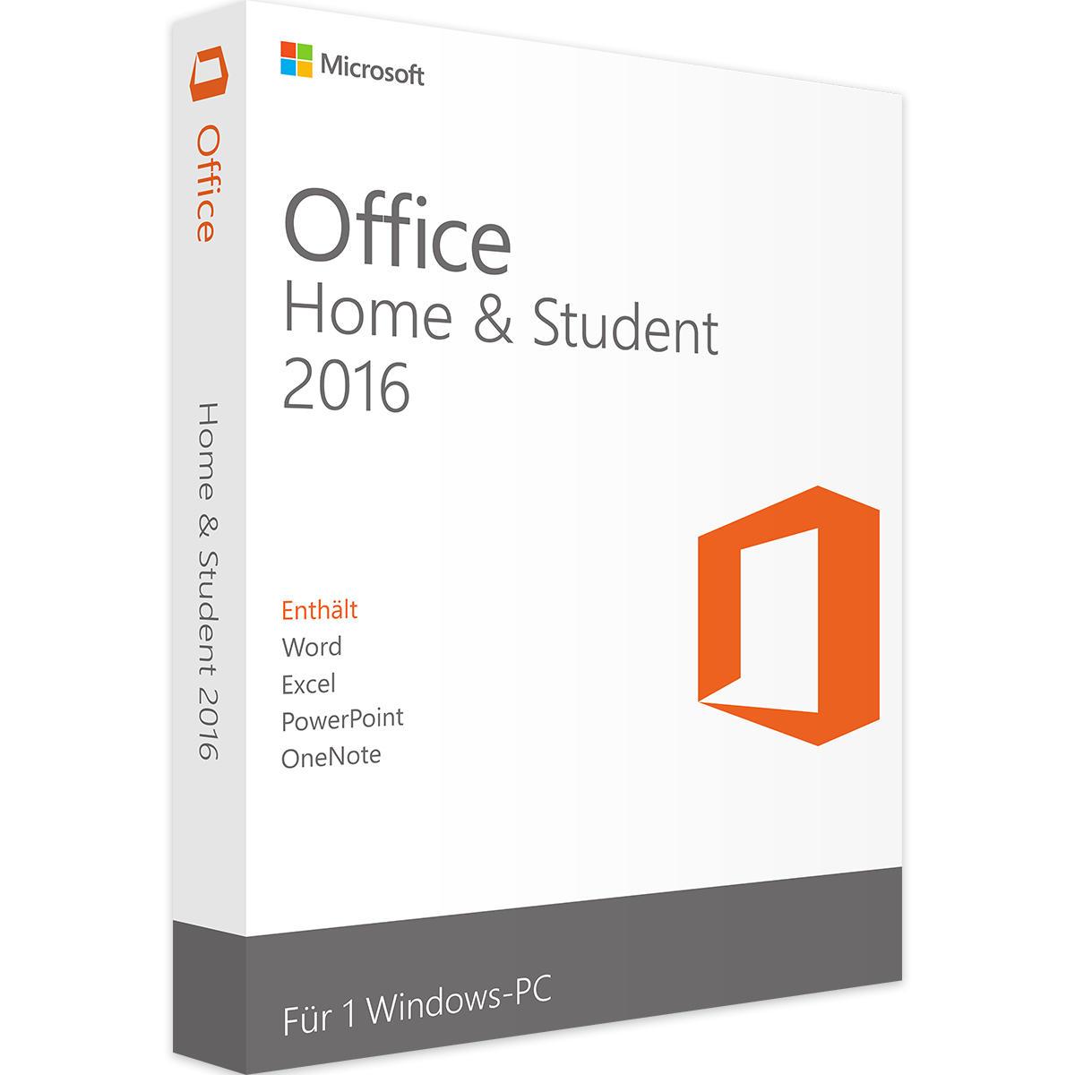 Microsoft Office 2016 Home & Student Windows