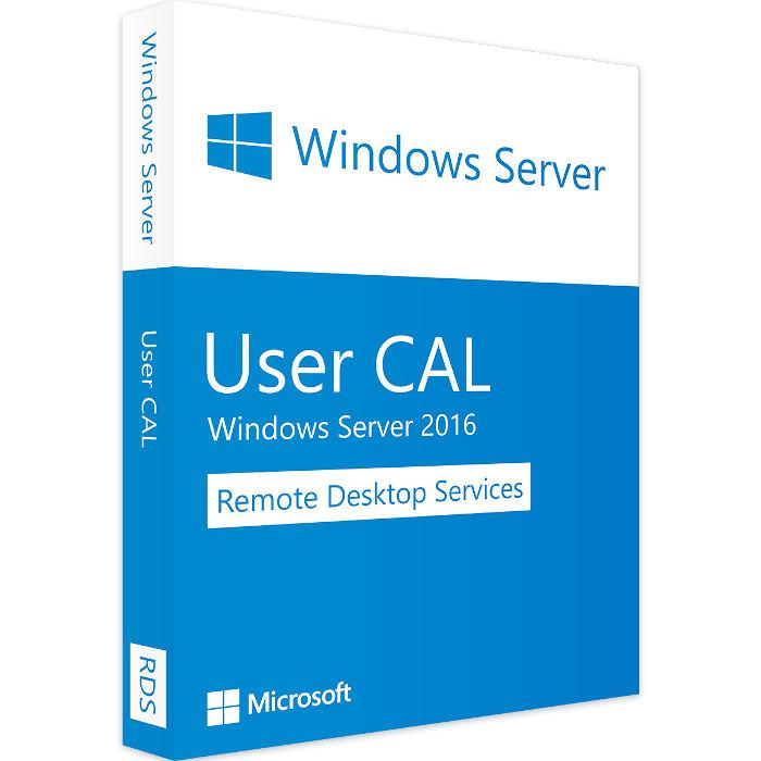 Windows Server 2016 - 10 RDS User CALs
