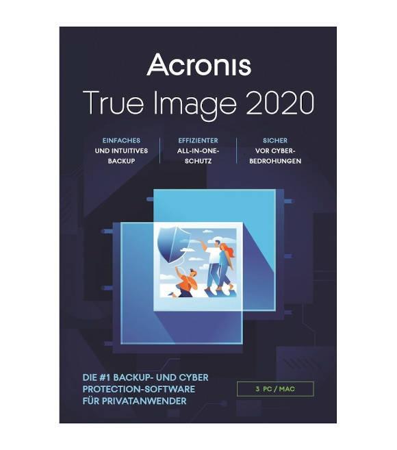 Acronis Backup 2020 3 Geräte deutsch