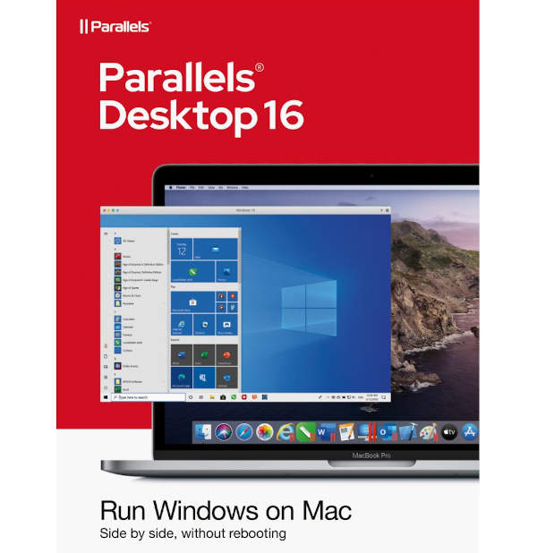 Paralells 16 for Mac, permanent license