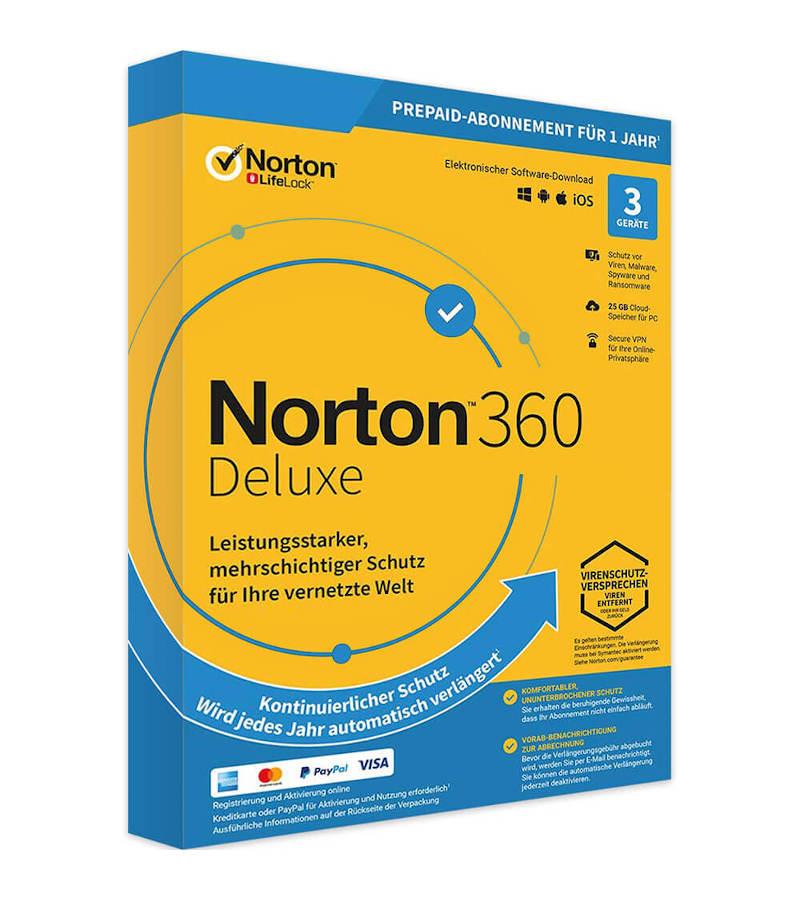 Norton 360 Deluxe - Sicherheitslösung