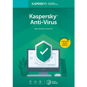 Kaspersky Anti Virus 2019 Upgrade (1 Jahr / 1 User)