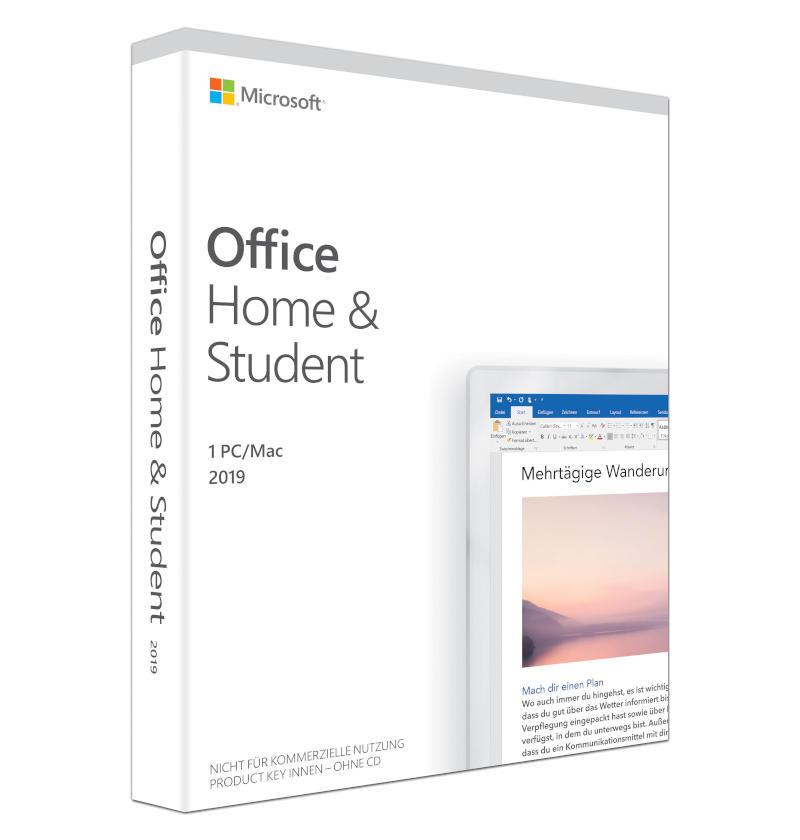 Microsoft Office 2019 Home & Student PC/Mac