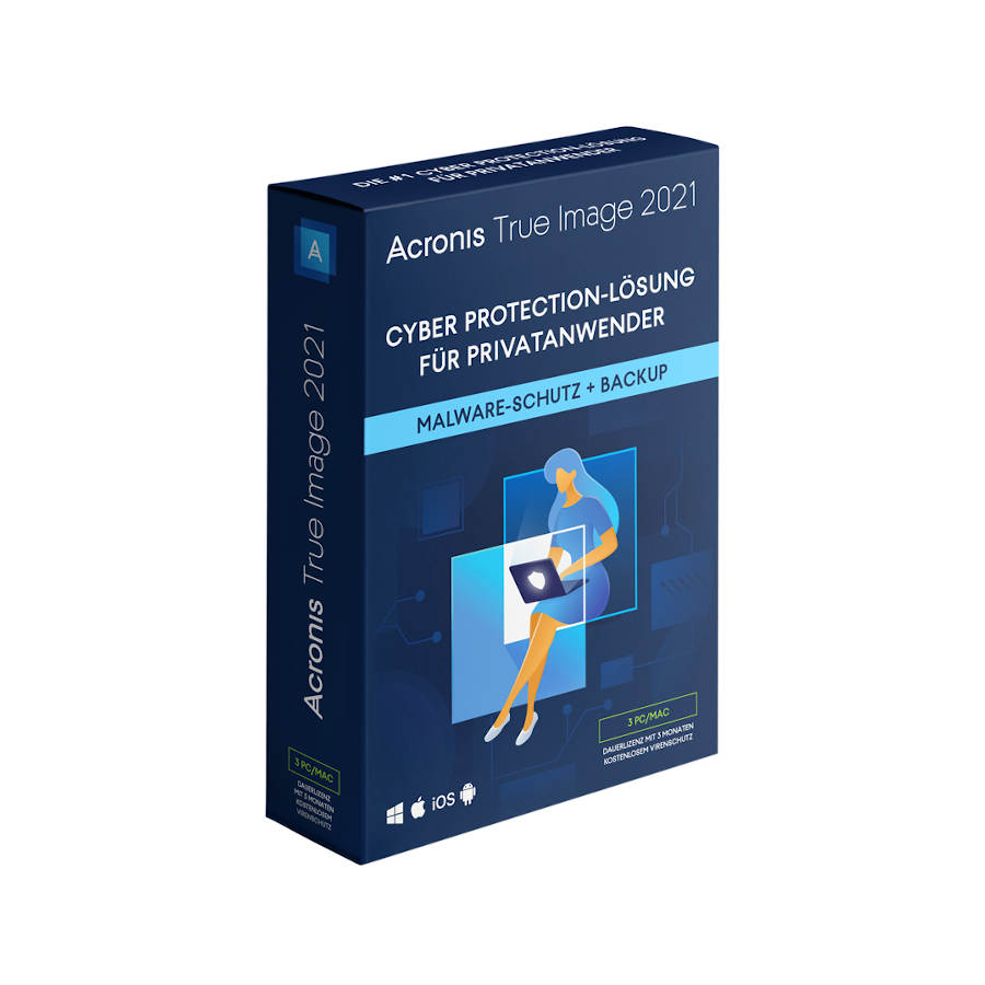 Acronis True Image 2021 3 PC