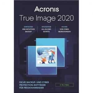 Acronis Backup 2020 3 Geräte deutsch