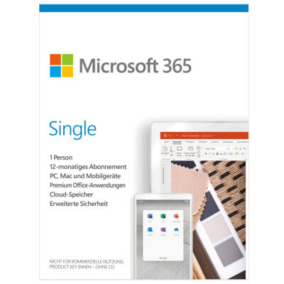 Microsoft 365 Single 1 Jahr