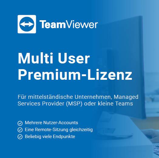 Teamviewer Premium bestellen - Lizenz 1 Jahr